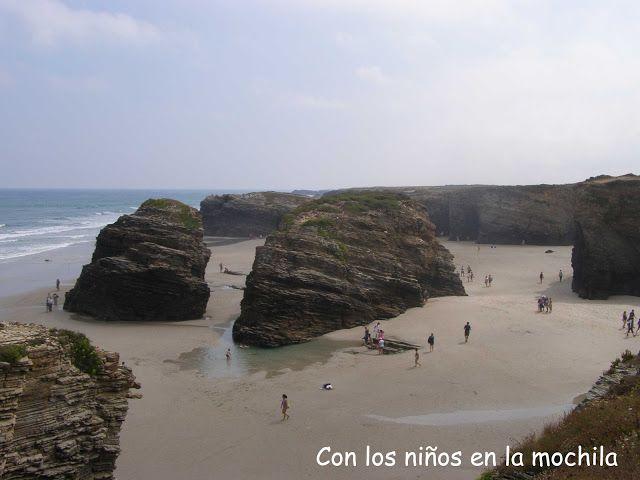 la playa de las catedrales Ribadeo Lugo Galicia