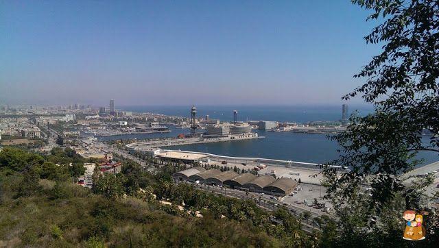 Barcelona-ninos-Montuïc