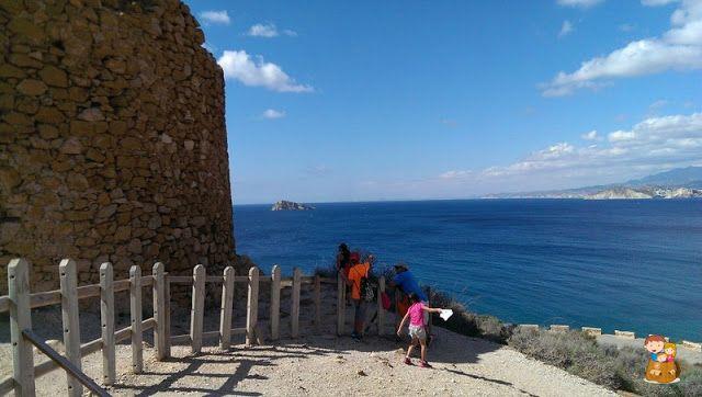 Benidorm-con-ninos-Ruta-Punta-Escaleta