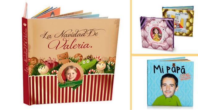 cuentos regalos personalizados navidad cumpleaños reyes aniversario