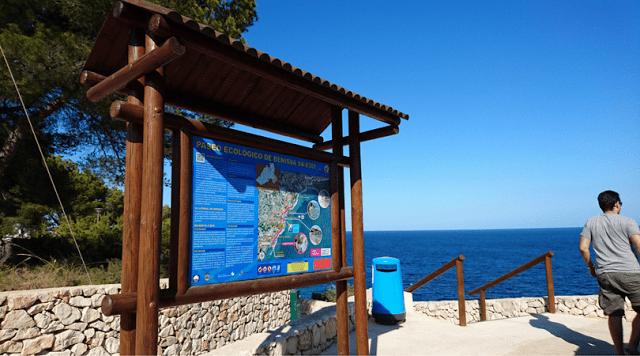 ruta costera con niños por el paseo ecologico litoral de benissa senderismo en familia