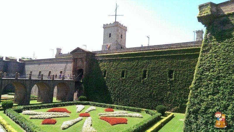Castillo Montjuic Jardines Joan Brossa