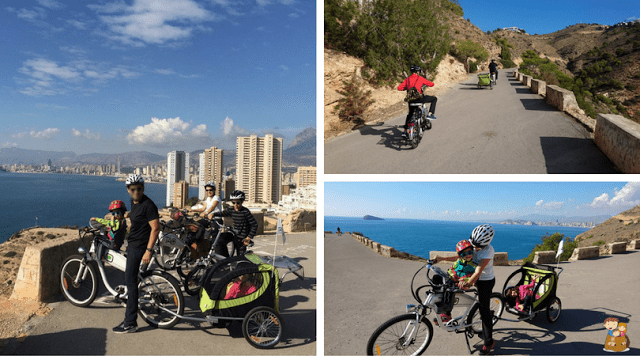 planes con niños benidorm rutas en bicicleta en familia tao bike visit