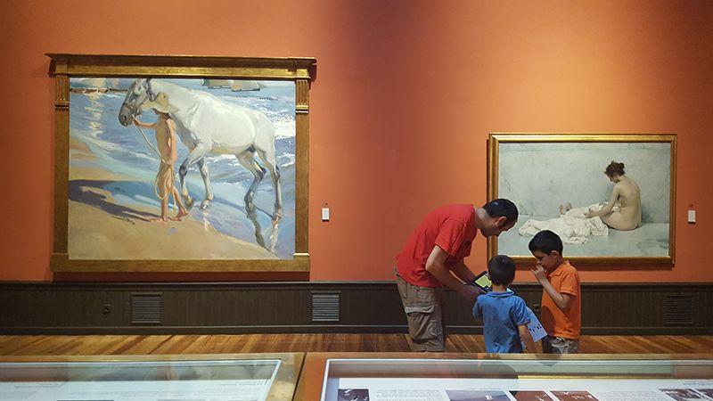 Museo Sorolla planes con ninos en Madrid ocio en familia