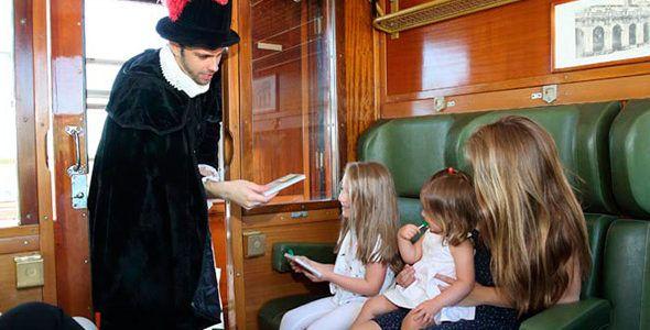 planes con ninos en Madrid ocio en familia Tren pasado
