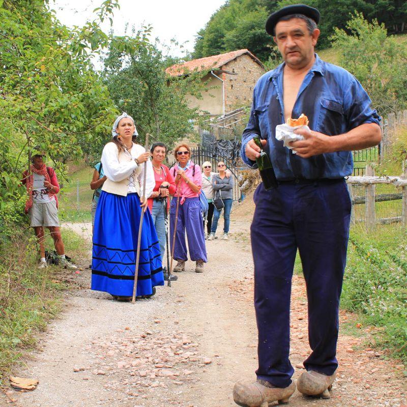 Ruta teatralizada La aldea perdida