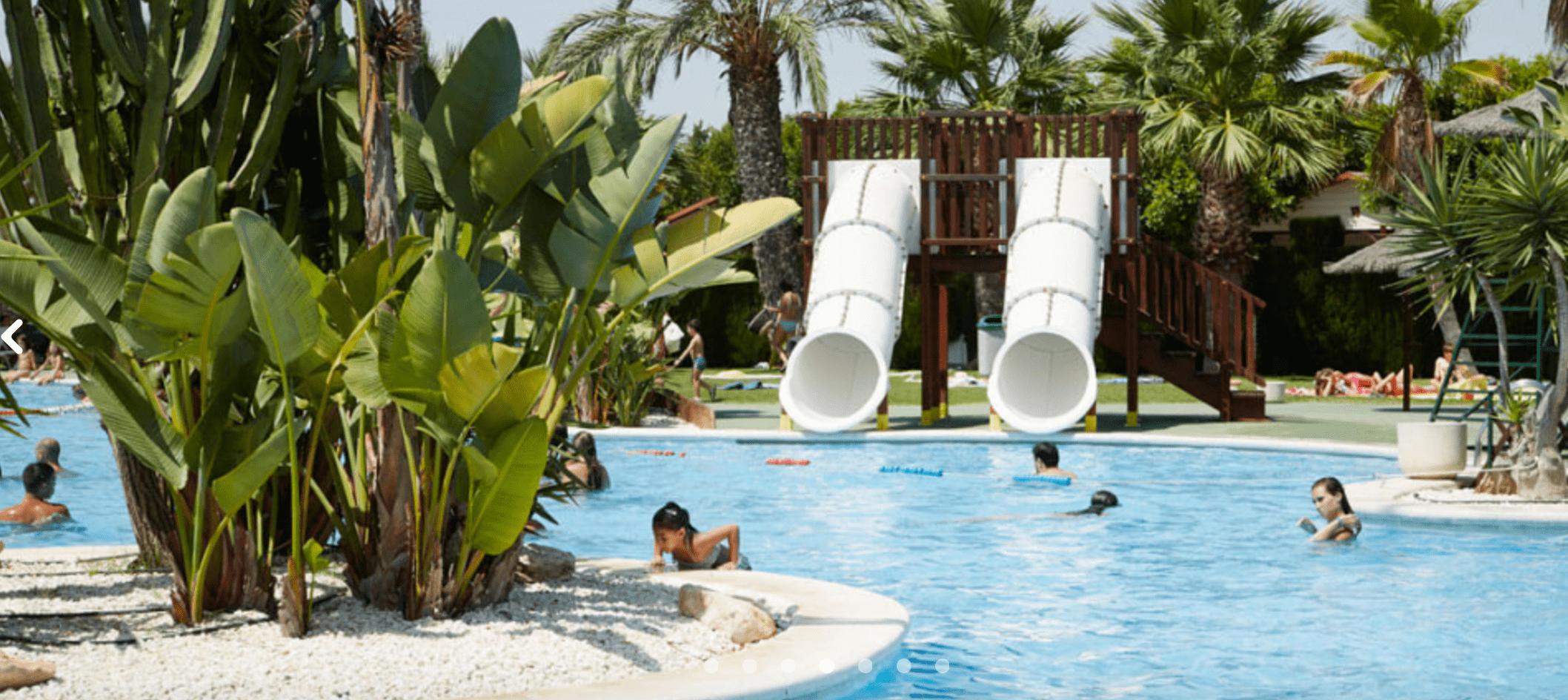 piscina verano pirata de Marjal Guardamar