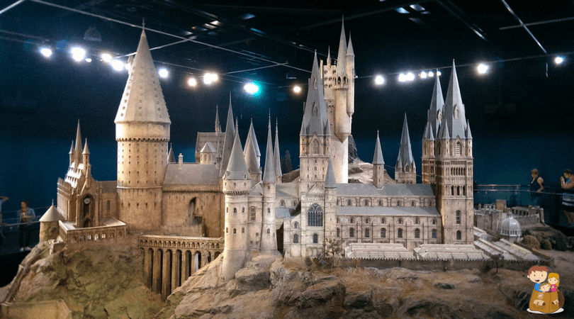 Maqueta de Howards Regalos para fans de Harry Potter
