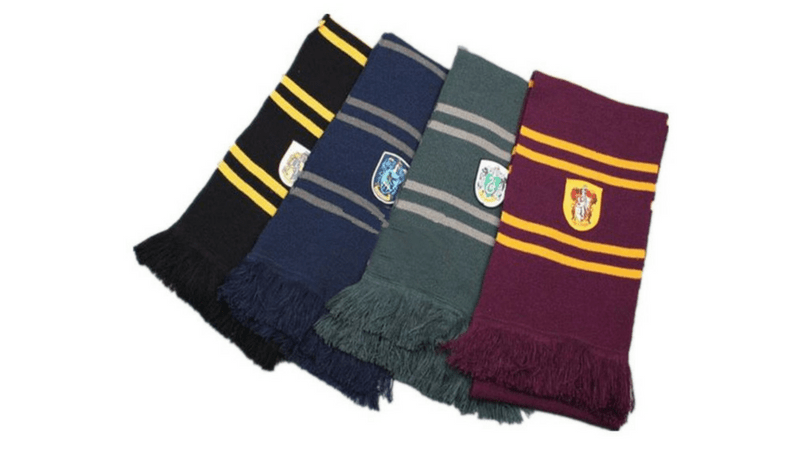 Bufandas Regalos para fans de Harry Potter