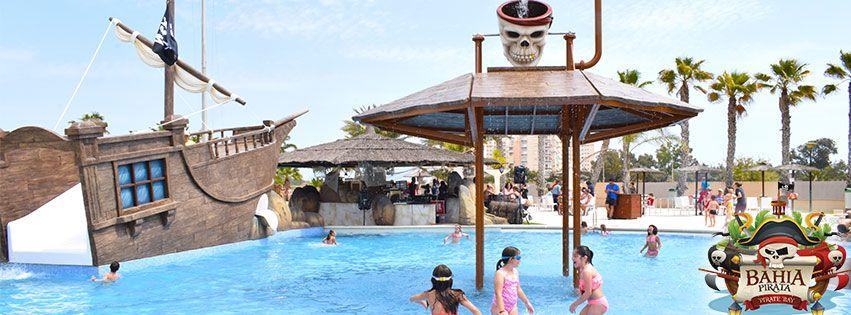 piscina bahia verano pirata de marjal guardamar