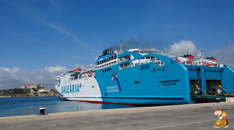 viajar en ferry con balearia