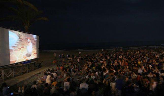 cine al aire libre planes de verano