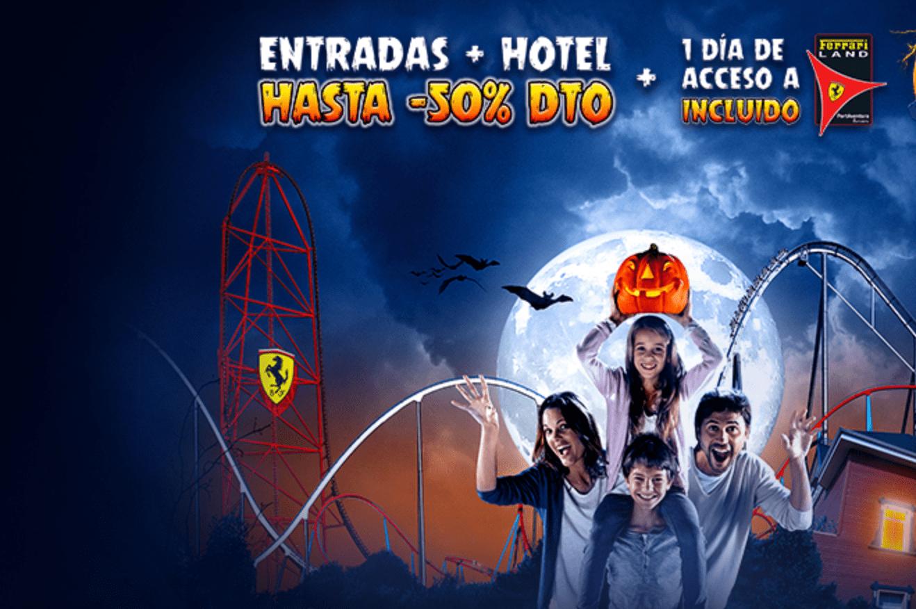 ofertas y descuentos para halloween Portaventura