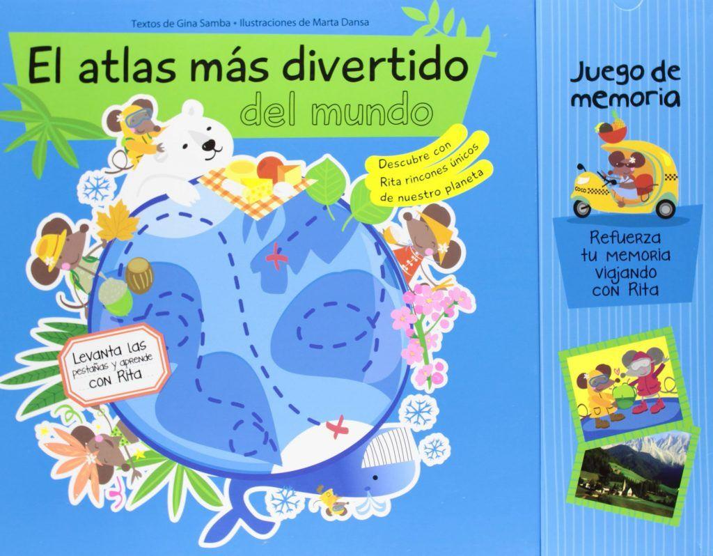 atlas para ninos 5 con los ninos en la mochila