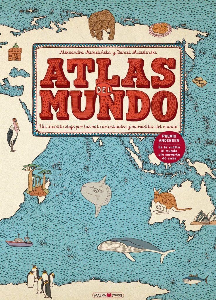 atlas para ninos 1 con los ninos en la mochila