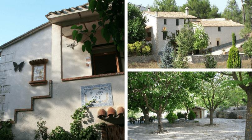 casas rurales grandes cerca de Alicante 1 con los niños en la mochila