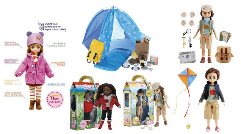muñecas viajeras y exploradoras Lottie dolls