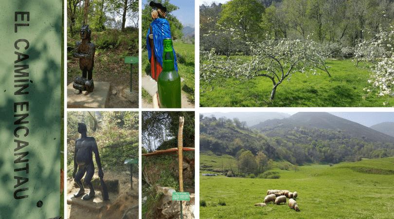 planes con niños en asturias camin encantau