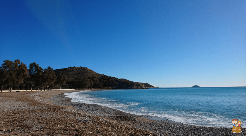 ruta de la costa de villajoyosa 2 Con los niños en la mochila